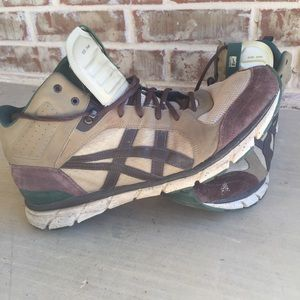 Onitsuka Tiger Harandia Leather High Top Sneakers